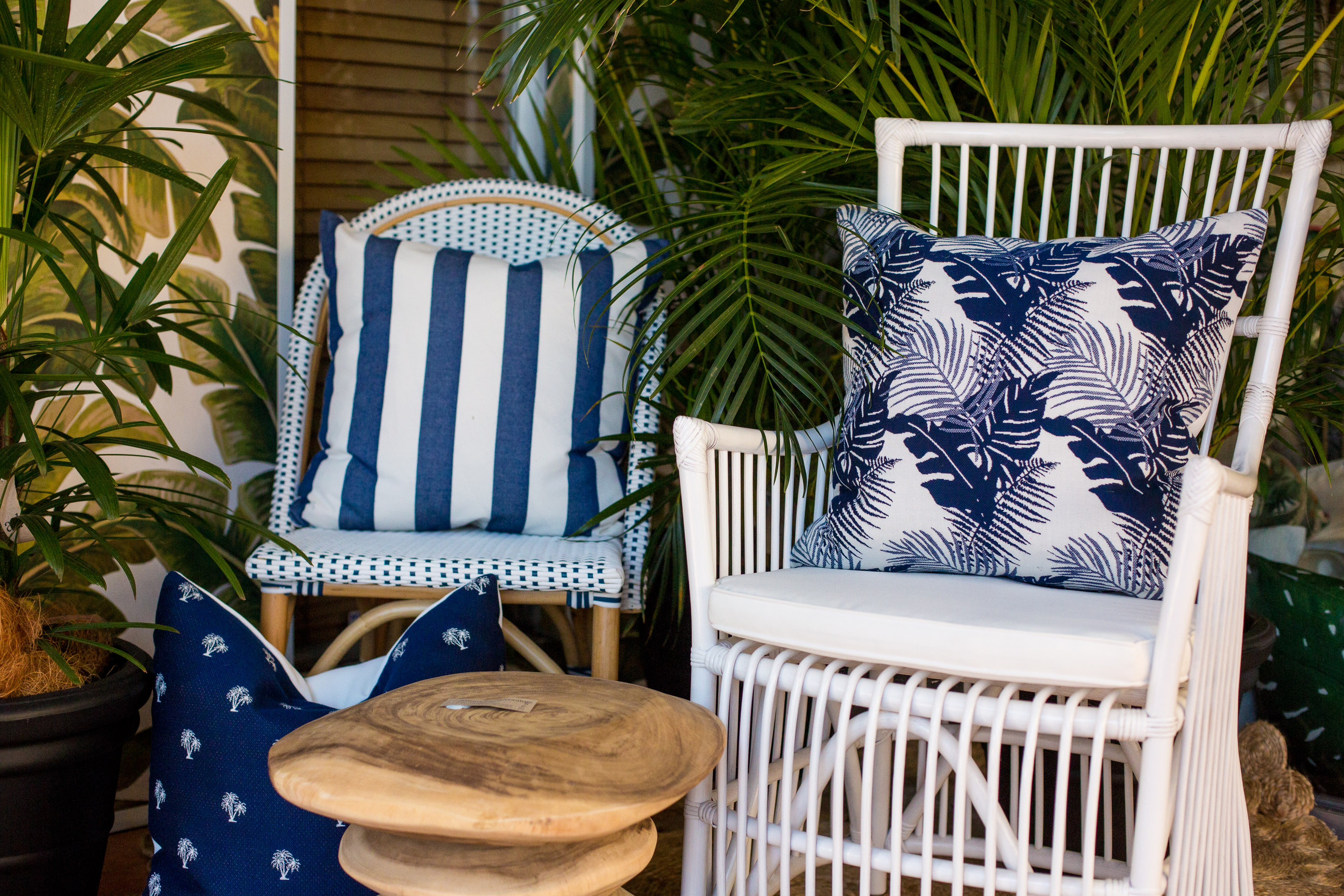 Outdoor fabrics have been known for their rough scratchy texture to adhere to the durability factor but with new formulas and technology we can now have